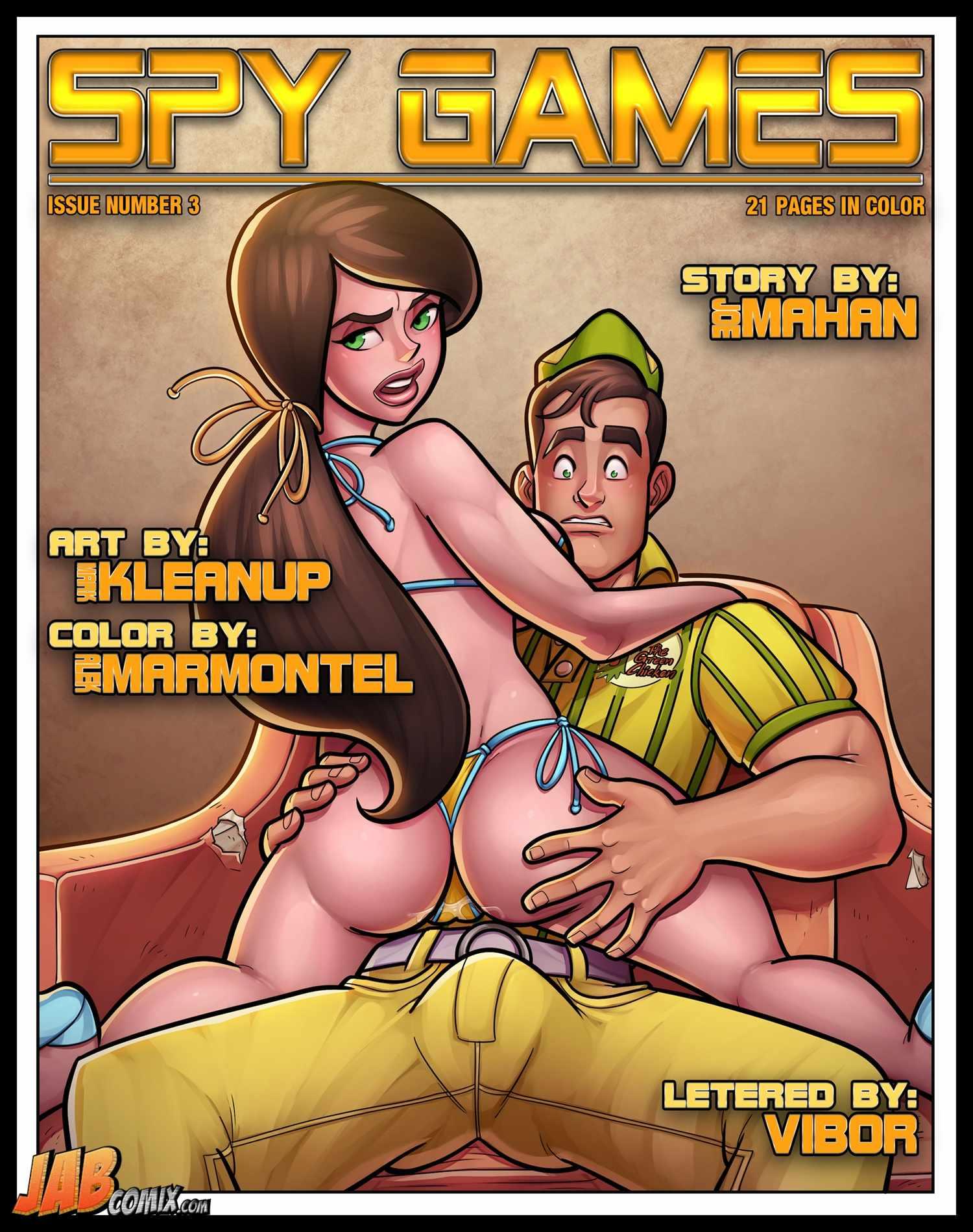 Spy Games 3 – JabComix