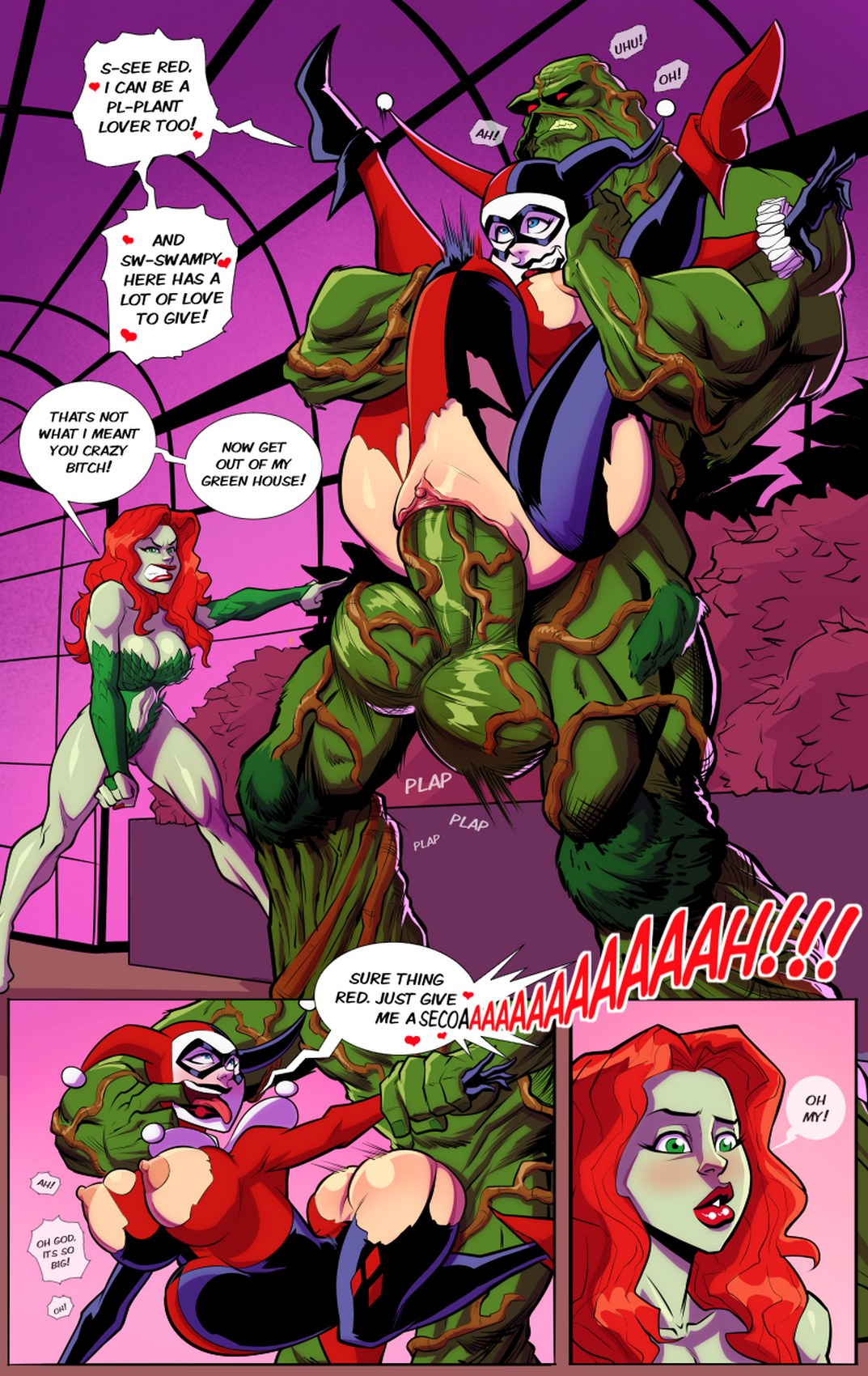 Hentai harley comic quinn Lois Lane